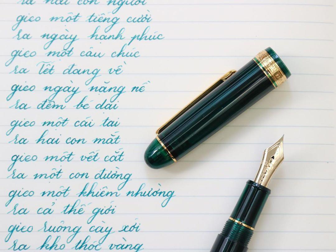Cụm ngòi vàng của bút Platinum Century 3776